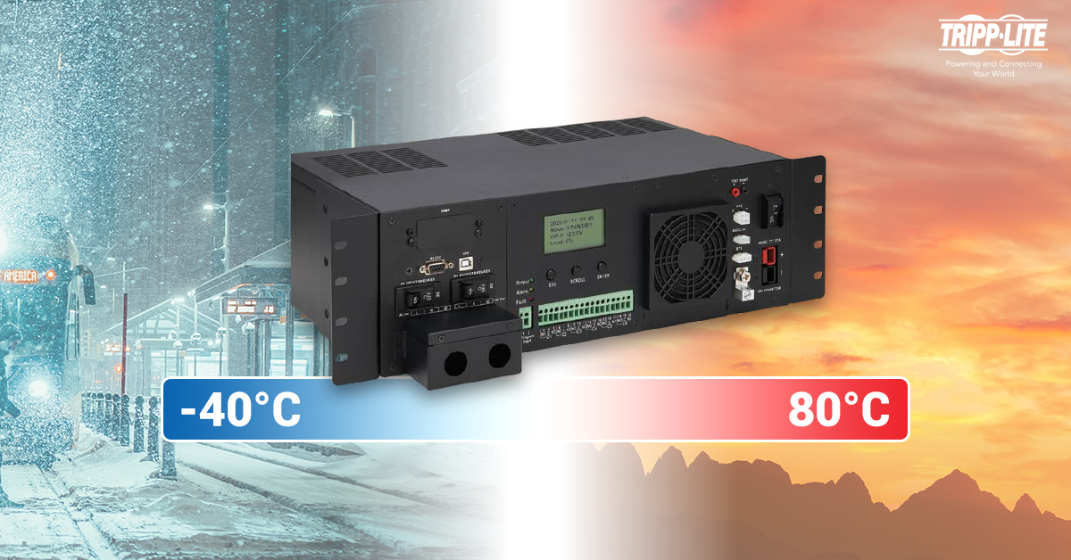 Nuevos sistemas UPS de Tripp Lite, brindan protección y respaldo de batería  en temperaturas extremas - Comunidad Blogger